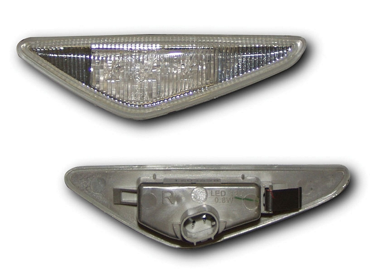 BMW 3 SERIES E46 2D 03-06 Clear LED Side Repeaters [Image 2]
