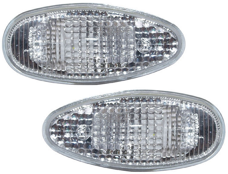 Toyota Yaris 1999-2006 Clear Side Indicator Repeaters Pair Left /& Right
