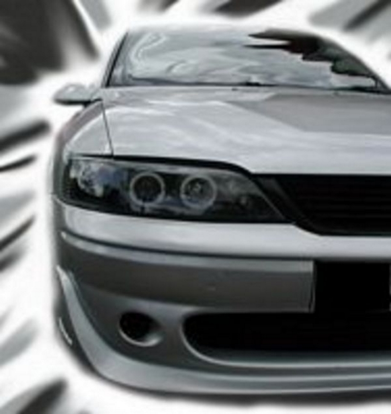 Vauxhall Vectra B (99-02) Black  Angel Eye Headlights [Image 2]