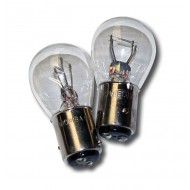 12V 21/5W TWIN FILAMENT CLEAR STOP/TAIL LIGHT BULBS