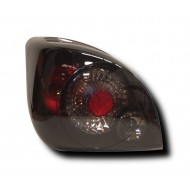 FORD FIESTA 4 (96-99) FIESTA 5 (99-02) TAIL LIGHTS - BLACK LEXUS-STYLE