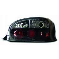 CITROEN SAXO (96-02) TAIL LIGHTS - BLACK LEXUS-STYLE