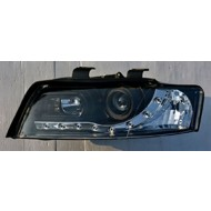 AUDI A4 B6 8E 01-05 BLACK DEVIL EYE R8 DRL-LOOK HEADLIGHTS