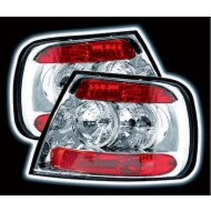 AUDI A4 B5 8D 1995-2000 4 DOOR CHROME LEXUS TAIL LIGHTS