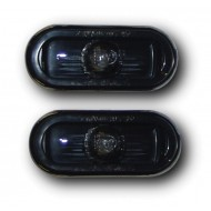 VW GOLF 4 BORA PASSAT (97-) POLO 4 (99-01) POLO 5 SIDE REPEATERS - CRYSTAL BLACK