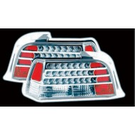 BMW 3-SERIES E36 COUPE CABRIO CHROME LED TAIL LIGHTS