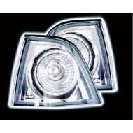 BMW 3-SERIES E36 SALOON TOURING COMPACT CHROME PROJECTOR FRONT INDICATOR