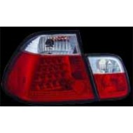BMW 3-SERIES E46 SALOON 98-01 2 PART RED/CLEAR LED TAIL LIGHT