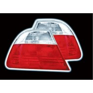 BMW 3-SERIES E46 SALOON -2001 RED CLEAR TAIL LIGHTS