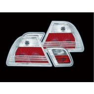 BMW 3-SERIES E46 COUPE CLEAR TAIL LIGHTS