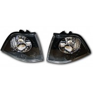 BMW 3-SERIES E36 COUPE CABRIO BLACK PROJECTOR FRONT INDICATORS