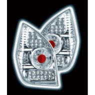 CITROEN C2 TECHNO CHROME LED DESIGN TAIL LIGHTS