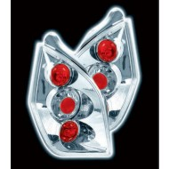 CITROEN C2 (02-09) TAIL LIGHTS - CHROME LEXUS-STYLE