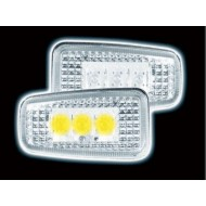 CITROEN SAXO LED CLEAR SIDE REPEATERS