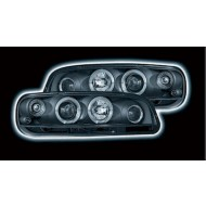 FIAT PUNTO MK2 (99-02) BLACK HALO HEADLIGHTS