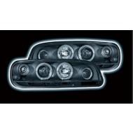 FIAT PUNTO MK2 (99-02) BLACK HALO HEADLIGHTS