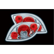 FORD KA TAIL LIGHTS - CHROME LEXUS-STYLE (RHD ONLY)