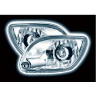 FORD FOCUS MK1 -9/01 CLEAR CHROME FRONT INDICATORS
