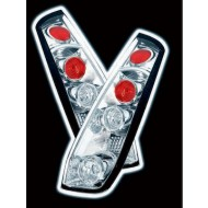 FORD FIESTA 6 03/02- 3DR CHROME LEXUS TAIL LIGHTS