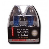 H4 POWER WHITE XENON BULBS - 12V 60/55W