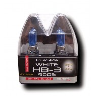 HB3 9005 POWER WHITE XENON BULBS - 12V 55W