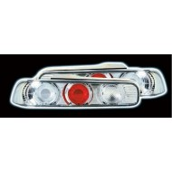 HONDA INTEGRA 1994-2001 CHROME LEXUS TAIL LIGHTS (NOT E MARKED)