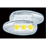 HONDA CIVIC 1988-1995 CRX 88-91-PRELUDE 92-96 LED CLEAR SIDE REPEATERS