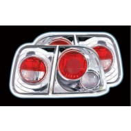 HONDA CIVIC 96-00 4 DOOR CHROME LEXUS TAIL LIGHTS