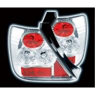 HONDA CIVIC 01-03 3-DOOR CHROME LEXUS TAIL LIGHTS