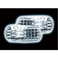 HONDA CIVIC HATCH 3/5-DOOR COUPE (01-) HR-V (01-) CRYSTAL CLEAR SIDE REPEATERS