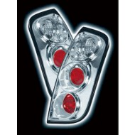 NISSAN MICRA 03- CHROME LEXUS DESIGN TAIL LIGHTS