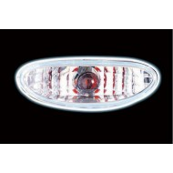 PEUGEOT 206 CLEAR CHROME FOGLIGHT (NOT E MARKED)