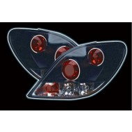 PEUGEOT 207 3/5 DOOR BLACK DESIGN TAIL LIGHTS