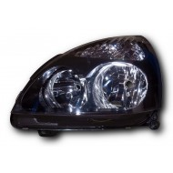 Renault Clio Mk2 Facelift (2001-2005) H1/H7 Headlight with black inside LEFT SIDE