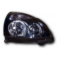 Renault Clio Mk2 Facelift (2001-2005) H1/H7 Headlight with black inside RIGHT SIDE