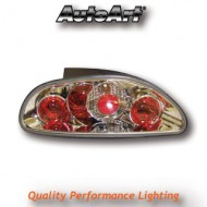 ROVER MGF (-04) TAIL LIGHTS - CHROME LEXUS-STYLE