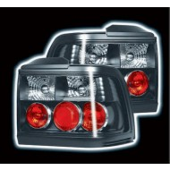 ROVER 200 / 400 HATCH & COUPE (89-95)  BLACK TAIL LIGHTS