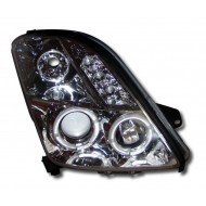 SUZUKI SWIFT (05-08) CHROME ANGEL EYE HEADLIGHTS