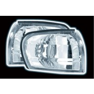 SUBARU IMPREZA -2001 CRYSTAL CHROME CORNER LIGHTS