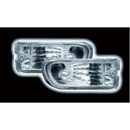 SUBARU IMPREZA 98-01 CHROME FRONT INDICATORS