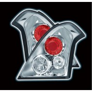 SUZUKI SWIFT 2005-08 CHROME DESIGN TAIL LIGHTS