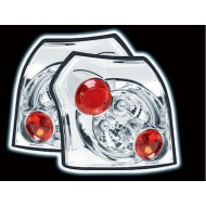 TOYOTA COROLLA 02- 3/5 DOOR CHROME LEXUS TAIL LIGHTS