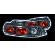 TOYOTA MR2 94-99 BLACK LEXUS TAIL LIGHTS