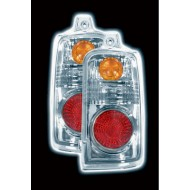 TOYOTA SURF/4-RUNNER 97-01 CHROME LEXUS TAIL LIGHTS