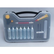 PREMIUM QUALITY COMPREHENSIVE TUBELESS TYRE REPAIR KIT IN CARRY CASE
