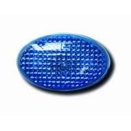 UNIVERSAL OVAL SIDE REPEATERS - BLUE