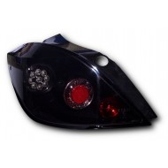 VAUXHALL ASTRA MK5 5_DOOR LED BLACK LEXUS REAR TAIL LIGHTS (PAIR)