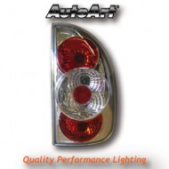 VAUXHALL CORSA B 5-DOOR (93-00) TAIL LIGHTS - CHROME LEXUS-STYLE