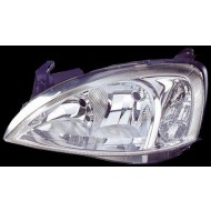VAUXHALL CORSA C 00-02 NEARSIDE  REPLACEMENT HEADLIGHT