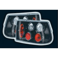 VAUXHALL ASTRA 3 HATCH (91-98) TAIL LIGHTS - BLACK LEXUS-STYLE